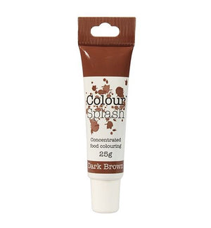 Dark Brown Colour Splash Gel 25g - SimplyCakeCraft