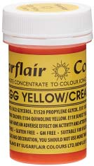 Egg Yellow/Cream Concentrated Spectral Colour Paste 25g