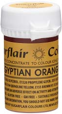 Egyptian Orange Concentrated Spectral Colour Paste 25g - SimplyCakeCraft