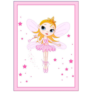 Personalised Fairy Princess Cake Topper - SimplyCakeCraft