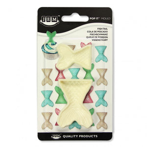 JEM Fish Tail (Set of 2) Pop-it Mold - SimplyCakeCraft
