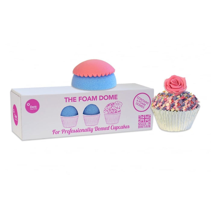 The Foam Dome Cupcake Shaping Dummies - Box of 6