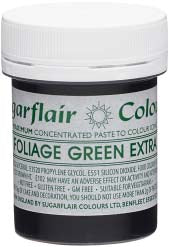 Foliage Green Extra Maximum Concentrated Paste Colour - SimplyCakeCraft