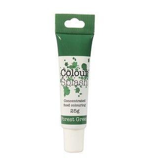 Forest Green Colour Splash Gel 25g - SimplyCakeCraft