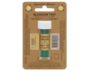Sugarflair Edible Blossom Tint - Forest Green - SimplyCakeCraft