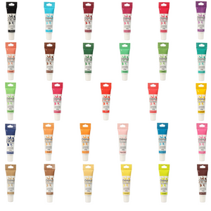 Colour Splash - Full Set of 29 Colour Gels - SimplyCakeCraft