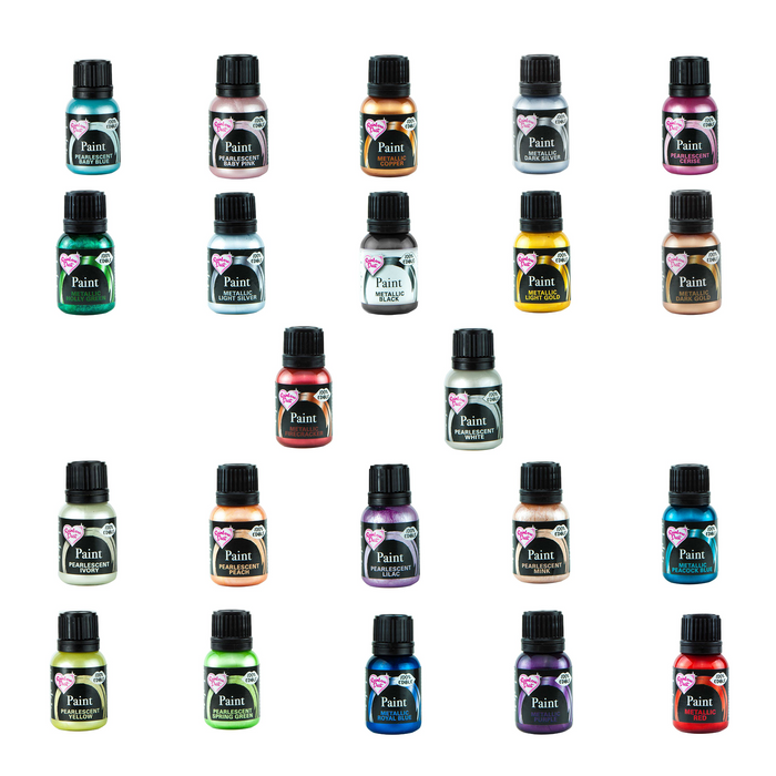 Full Set of 22 Rainbow Dust Food Paints