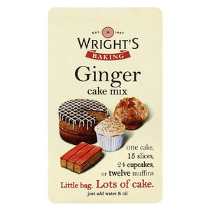 Wright's Ginger Cake Mix 500g - SimplyCakeCraft