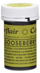 Gooseberry Concentrated Spectral Colour Paste 25g - SimplyCakeCraft