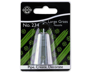 Large Grass Piping Nozzle No. 234 -  - SimplyCakeCraft