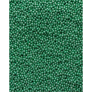 Metallic Pearls - Green 4mm - SimplyCakeCraft