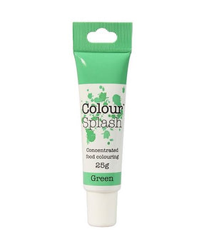 Green Colour Splash Gel 25g - SimplyCakeCraft