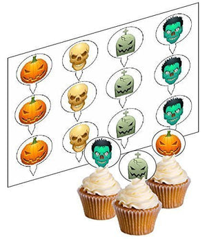 Halloween Cupcake Picks - SimplyCakeCraft