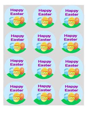 Happy Easter Egg Cupcake Toppers - SimplyCakeCraft