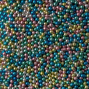 Metallic Pearls - Harlequin Mix 6mm - SimplyCakeCraft