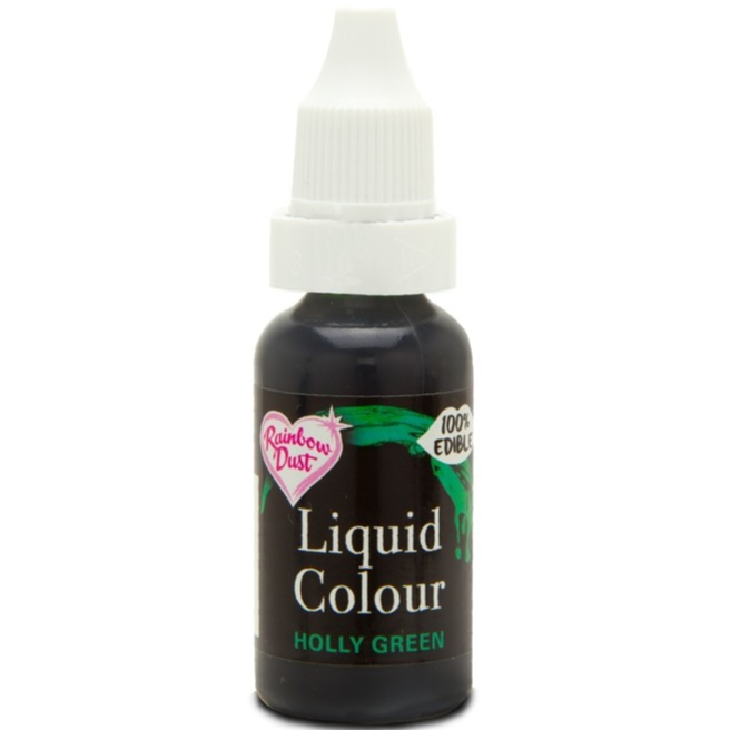 RainbowDust - Holly Green - Liquid Colour 16ml