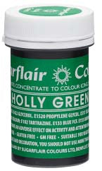 Holly Green Concentrated Spectral Colour Paste 25g - SimplyCakeCraft