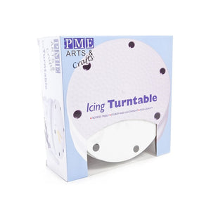 Cake Decorating Icing Turntable -  - SimplyCakeCraft