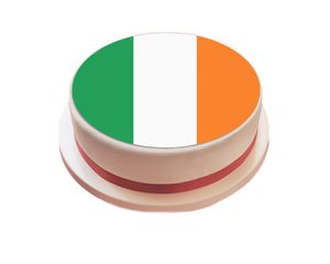 Ireland / Irish Flag Cake Topper - SimplyCakeCraft