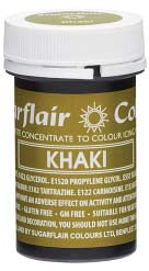 Khaki Concentrated Spectral Colour Paste 25g - SimplyCakeCraft