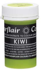 Kiwi Concentrated Pastel Colour Paste 25g - SimplyCakeCraft