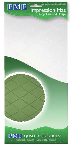 Large Diamond Texture Impression Mat