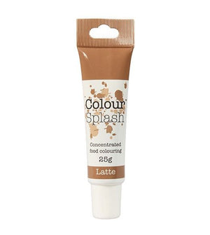 Latte Colour Splash Gel 25g - SimplyCakeCraft