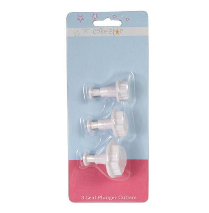 Leaf Plunger Cutter Set of 3