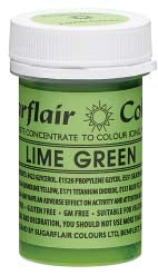 Lime Green Concentrated Spectral Colour Paste 25g - SimplyCakeCraft