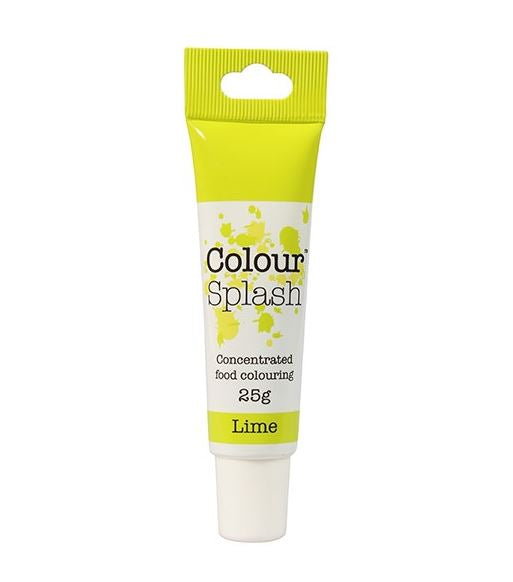Lime Colour Splash Gel 25g