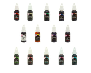 RainbowDust - Full Set - Liquid Colour 16ml - SimplyCakeCraft