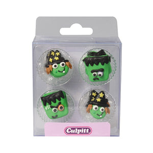 12 Monster Friend Sugar Decorations - SimplyCakeCraft