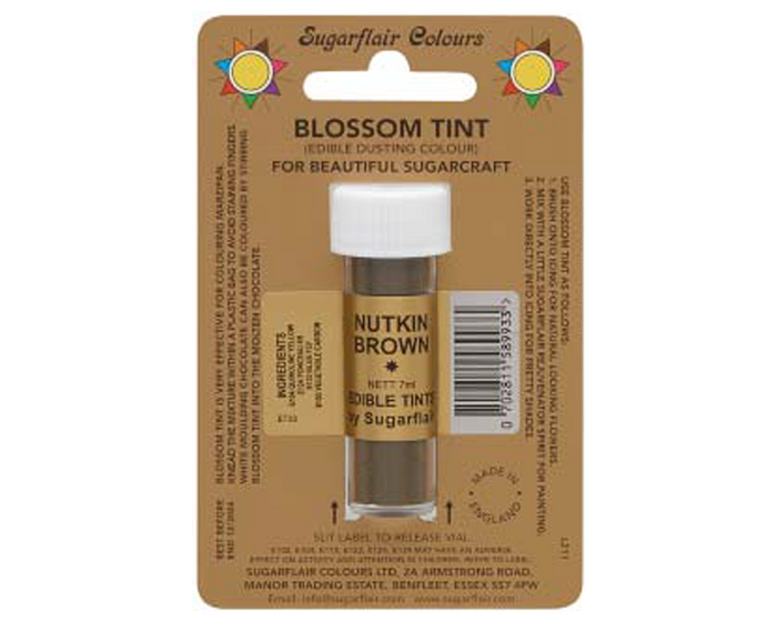 Sugarflair Edible Blossom Tint - Nutkin Brown