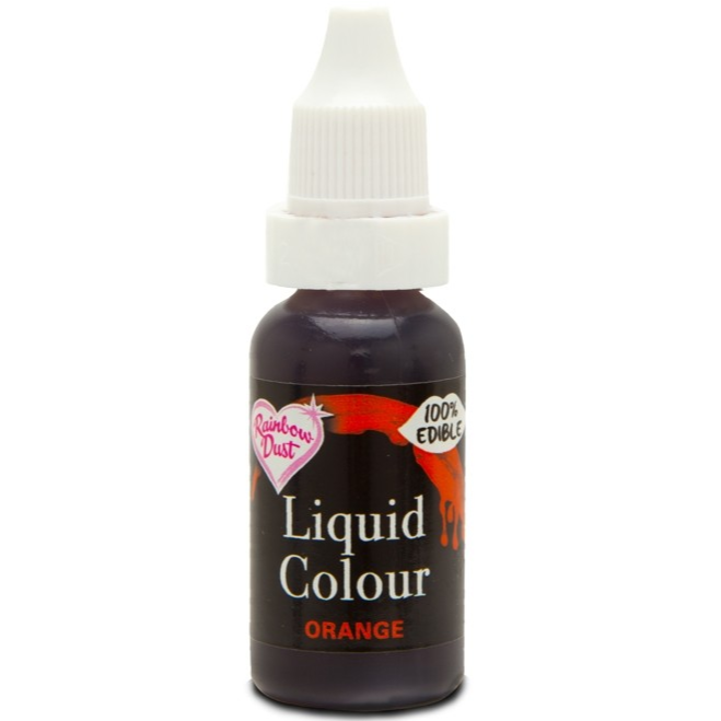 RainbowDust - Orange - Liquid Colour 16ml