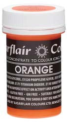 Orange Concentrated Pastel Colour Paste 25g - SimplyCakeCraft