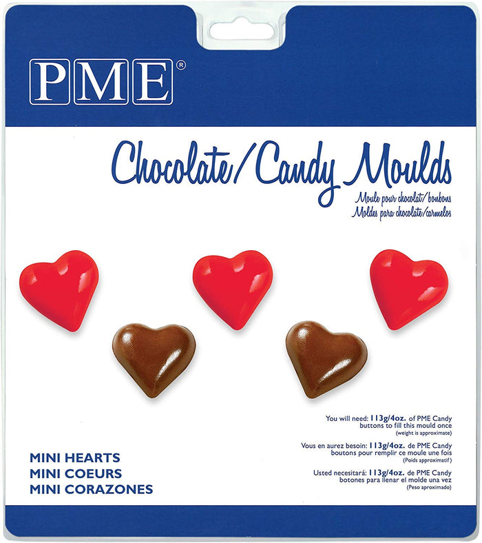 PME Mini Hearts Chocolate / Candy Mould