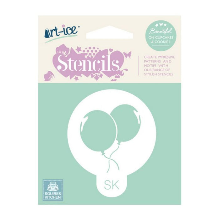 Party Balloons Round Stencil from SK