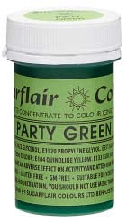 Party Green Concentrated Spectral Colour Paste 25g - SimplyCakeCraft