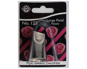Large Petal Piping Nozzle No. 123 - SimplyCakeCraft