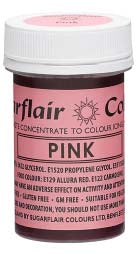 Pink Concentrated Spectral Colour Paste 25g - SimplyCakeCraft
