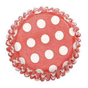 Polkadot Red Cupcake Cases - SimplyCakeCraft