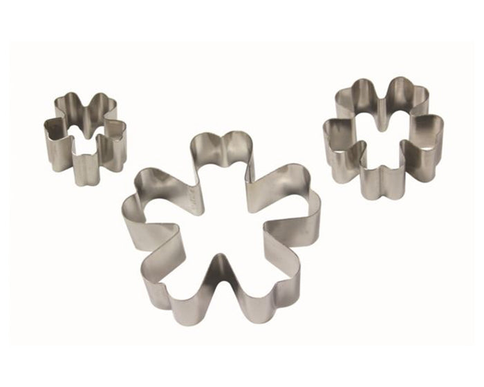PME Primrose Stainless Steel Cutters Set of 3
