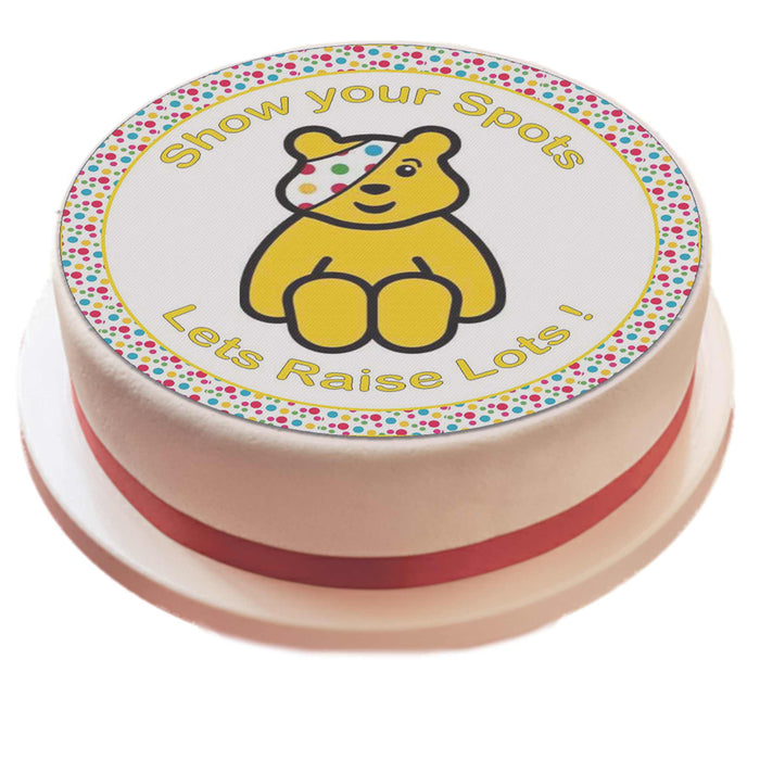 Pudsey Icing Sheet Cake Topper