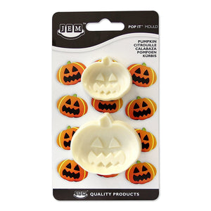 JEM Pumpkin (Set of 2) Pop-it Mold - SimplyCakeCraft