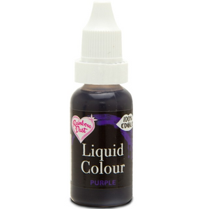 RainbowDust - Purple - Liquid Colour 16ml - SimplyCakeCraft