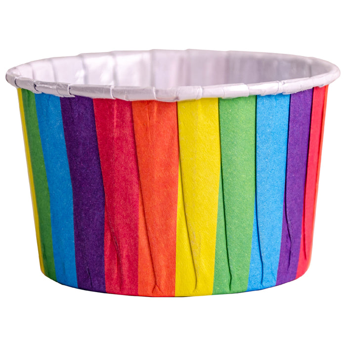 Rainbow Baking Cups 24 Pack