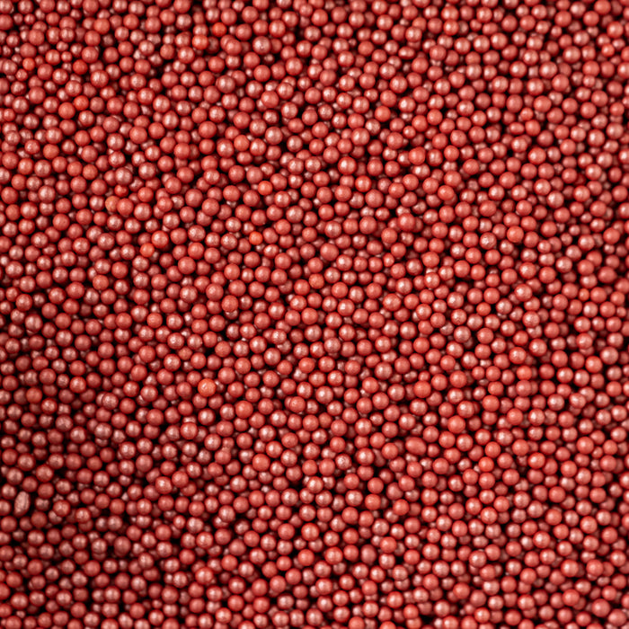 Glimmer Pearls - 3mm Red