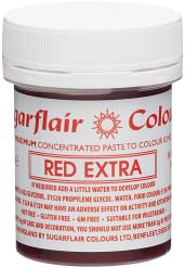 Red Extra Maximum Concentrated Paste Colour - SimplyCakeCraft