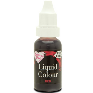 RainbowDust - Red - Liquid Colour 16ml - SimplyCakeCraft