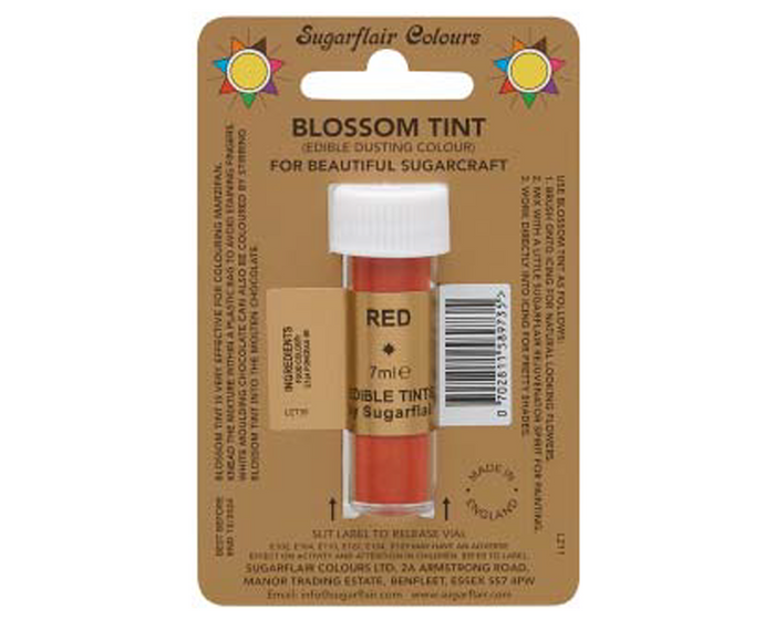 Sugarflair Edible Blossom Tint - Red
